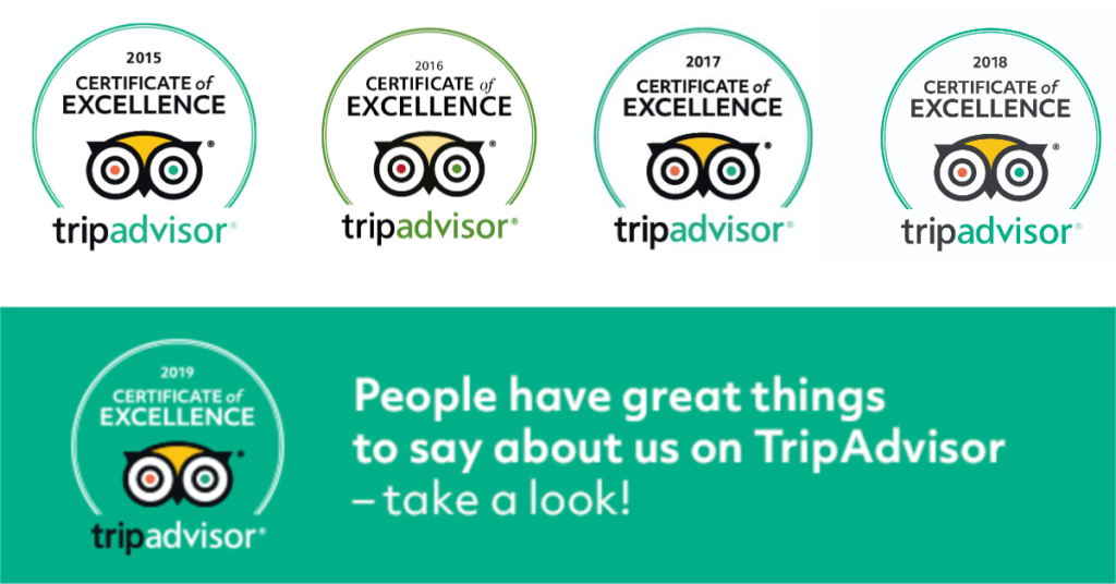 SEAthens Tripadvisor Certificates of Excellence